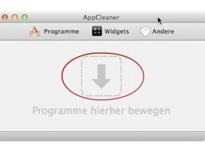 Mit AppCleaner Apps löschen