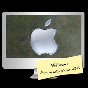 Mac Webinar - so helfe ich mir selbst mit Ulrike John