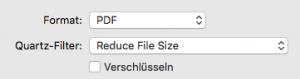 PDF mit Vorschau komprimieren