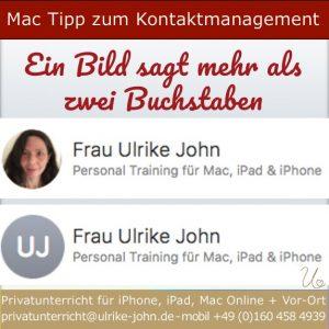 Mac Tipp Kontaktmanagement